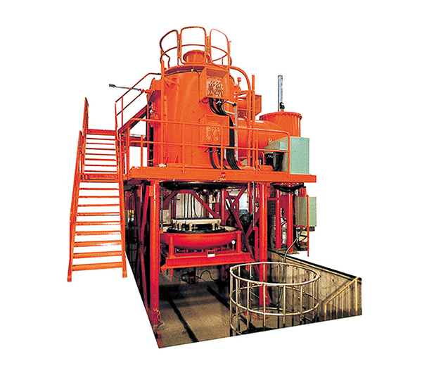 Vertical Vacuum Gas Cooling Furnace VPQR series